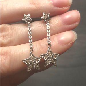 925 Silver Star Earrings